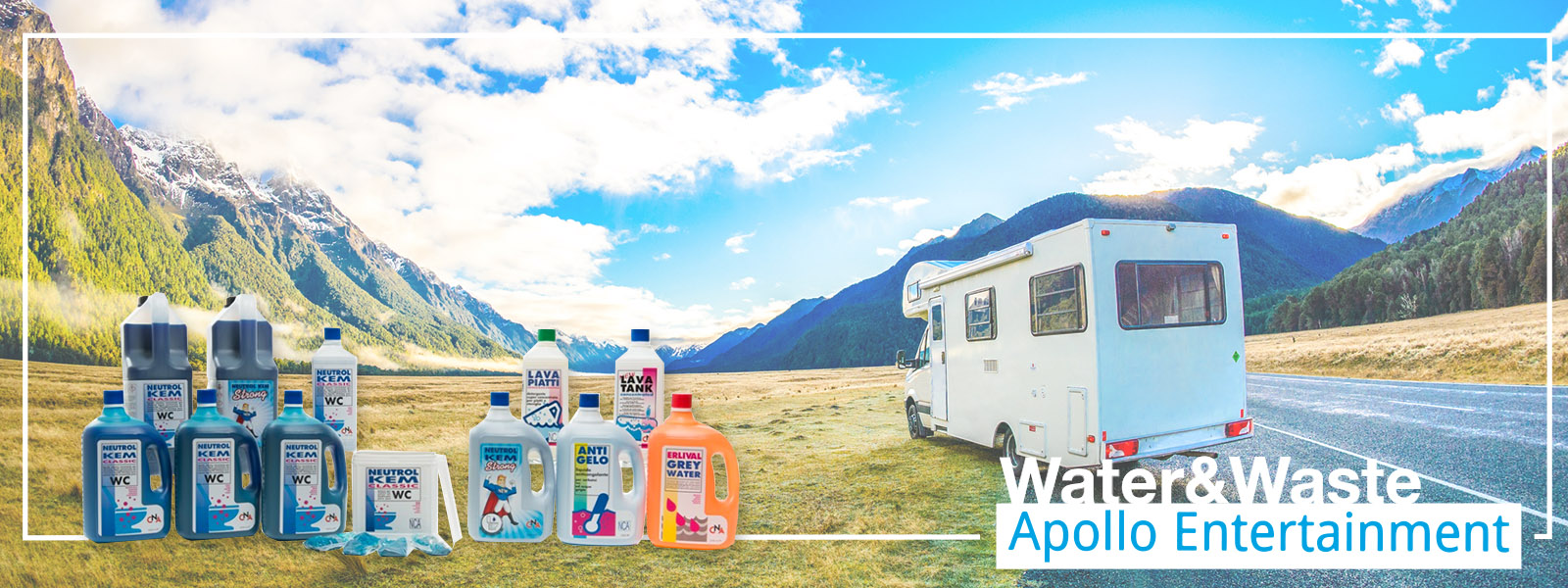 Apollo Banner Water Waste Products